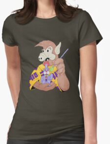 ALF Gets Lucky Womens Fitted T-Shirt