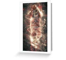 Electric Jimmy Greeting Card