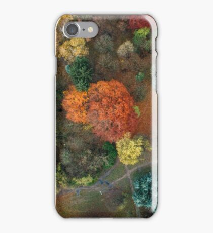 Fall colours from above 3 iPhone Case/Skin
