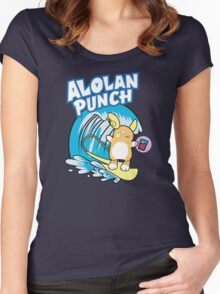Alolan Punch Women's Fitted Scoop T-Shirt
