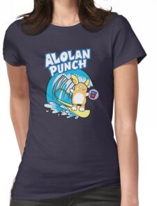 Alolan Punch Womens Fitted T-Shirt