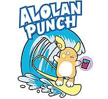 Alolan Punch Photographic Print