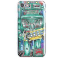 Retro Robot - Robots, Space iPhone Case/Skin