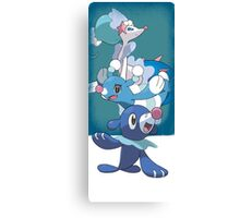 Team Popplio Canvas Print