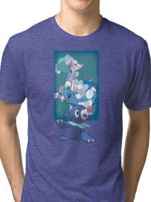Team Popplio Tri-blend T-Shirt