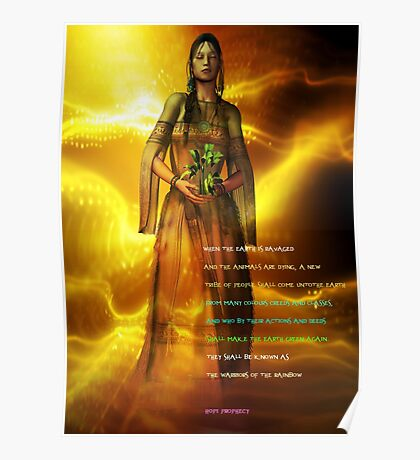 hopi prophecy Poster