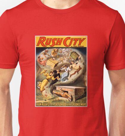 Vintage Rush City Tornado via Cyclone's Wave Unisex T-Shirt