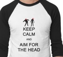 Always Aim for the Head Men's Baseball ¾ T-Shirt