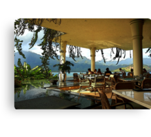 Breakfast In Hanalei Canvas Print