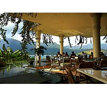Breakfast In Hanalei Photographic Print