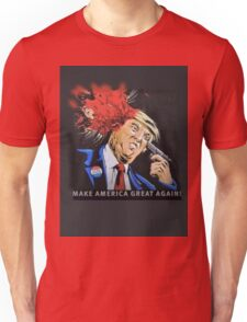 Trump Shot maga Unisex T-Shirt