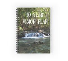 10 Year Vision Plan Spiral Notebook