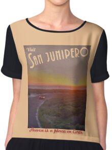 Black Mirror - San Junipero Chiffon Top