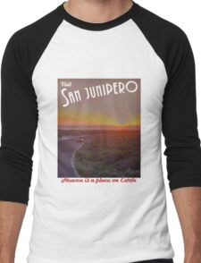 Black Mirror - San Junipero Men's Baseball ¾ T-Shirt