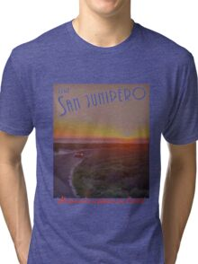Black Mirror - San Junipero Tri-blend T-Shirt