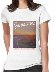 Black Mirror - San Junipero Womens Fitted T-Shirt
