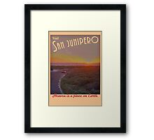 Black Mirror - San Junipero Framed Print