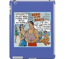 Funny Comic Book Ads: Hero of the Beach iPad Case/Skin