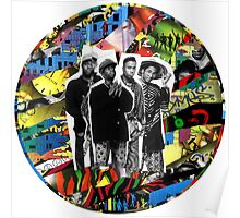 A Tribe Called Quest Album Collage Poster