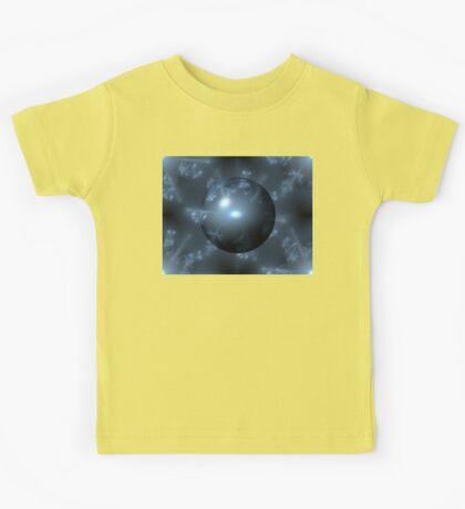 Abstract Blue Globe Kids Tee