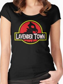 Lavender Town Women's Fitted Scoop T-Shirt