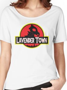 Lavender Town Women's Relaxed Fit T-Shirt