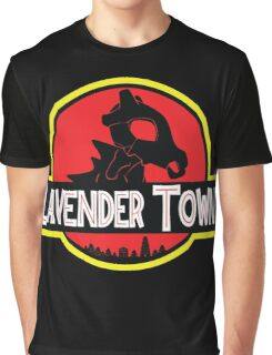 Lavender Town Graphic T-Shirt