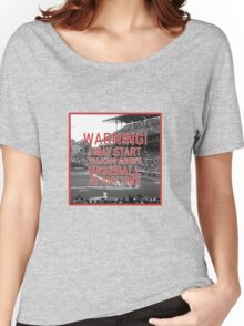 I Love Baseball! Women's Relaxed Fit T-Shirt