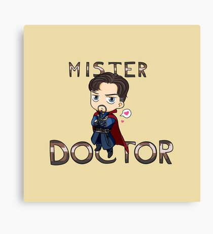 Mister Doctor Canvas Print