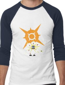Pokemon Sun and Moon Solgaleo shirt Men's Baseball ¾ T-Shirt
