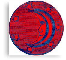 Masonic Moon Symbol Canvas Print