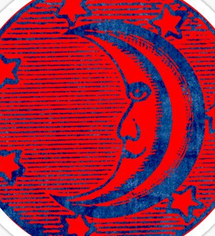 Masonic Moon Symbol Sticker