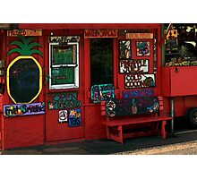 Hawaiian Juice Bar Photographic Print