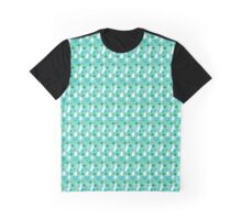 Crazy Eyes Pattern Graphic T-Shirt