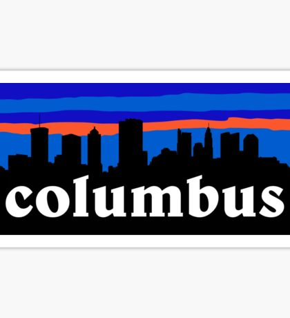 Columbus Sticker