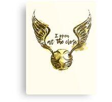 Golden snitch Metal Print
