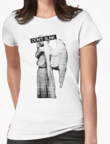 [Doctor Who] Don't Blink - Angel Womens Fitted T-Shirt