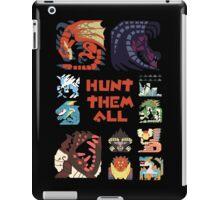 MONSTER HUNTER 4 - HUNT THEM ALL iPad Case/Skin