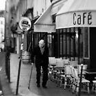 Parisian Cafe - France by Norman Repacholi