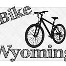 Bike Wyoming State by surgedesigns