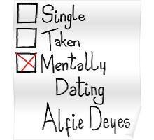 Mentally Dating Alfie Deyes Poster
