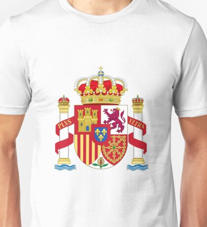Spain Coat of Arms - Escudo de Espana Unisex T-Shirt