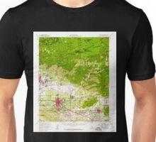 USGS TOPO Map California CA Redlands 298751 1954 62500 geo Unisex T-Shirt