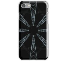 Geometric XXXIII (Blueprint) iPhone Case/Skin