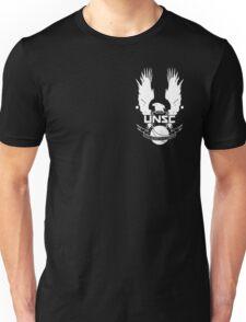 U.N.S.C. Insignia, 343i Redesign (White Logo) Unisex T-Shirt