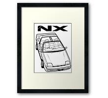 Nissan Pulsar NX Action Shot Framed Print