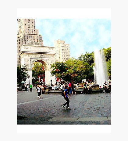 Washington Square, Greenwich Village, NYC, NY Photographic Print