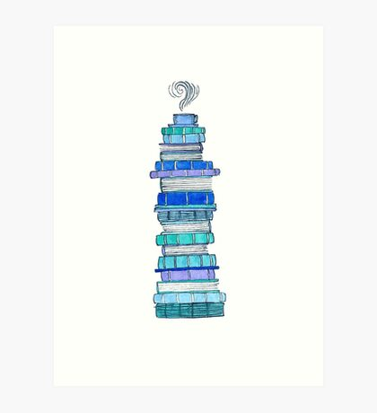Cool Books Art Print