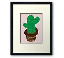 Please Don't Touch Framed Print