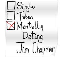 Mentally Dating Jim Chapman Poster